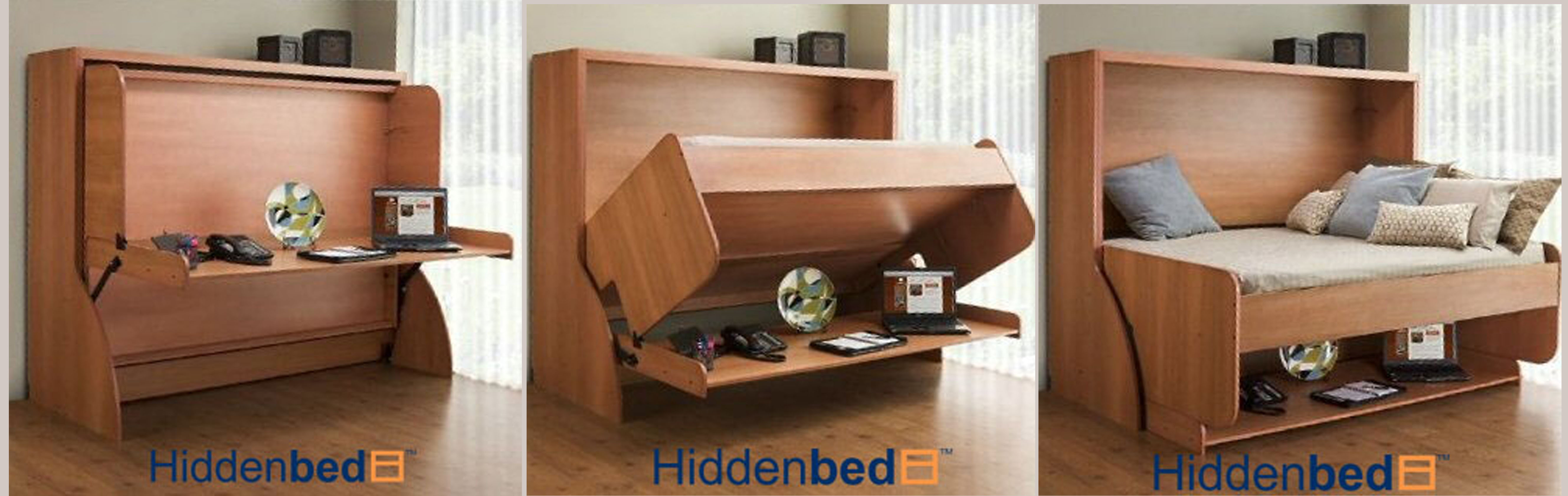 BASIC STUDY DESK FOLDING BED
