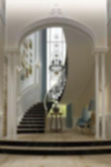 CONTEMPORARY Style Villa CASA-ELAN Interior Design Dubai Luxury Homes Palm Jumeirah