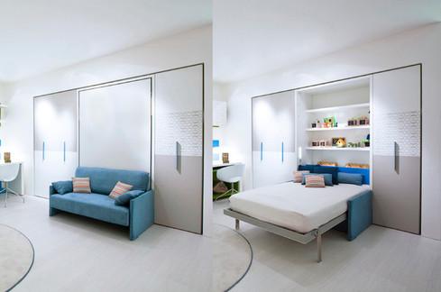 Teenagers Bedroom Design Murphy Folding Wall Bed