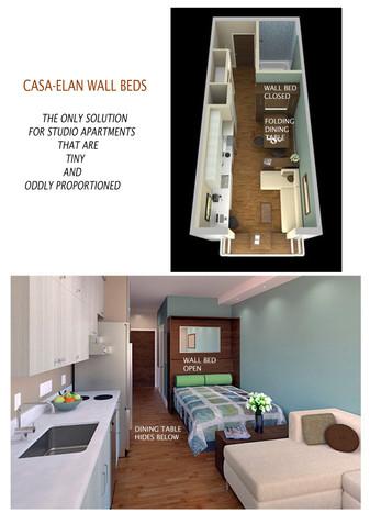 Studio Apartment Design IDEA