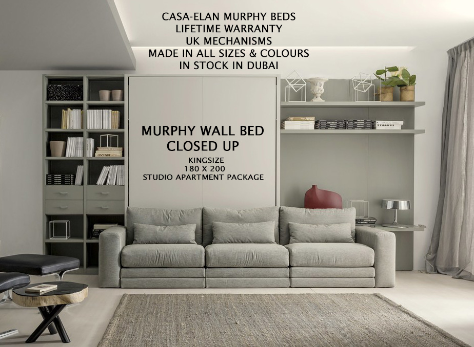 Murphy Wall Bed Big Movable Sofa
