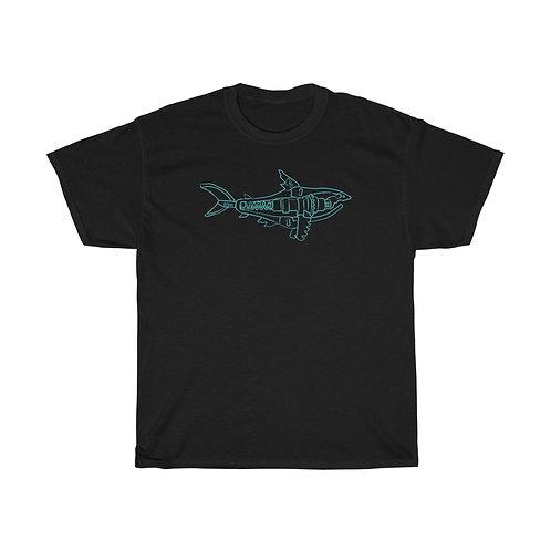 Blue Shark Unisex Heavy Cotton Tee