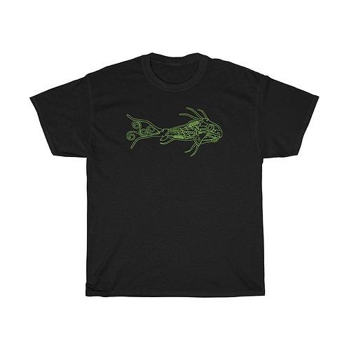 Green Fish Unisex Heavy Cotton Tee