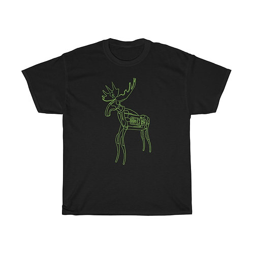 Green Moose Unisex Heavy Cotton Tee