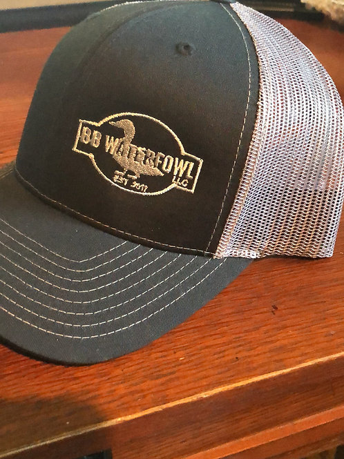 BB Waterfowl Black and Grey hat