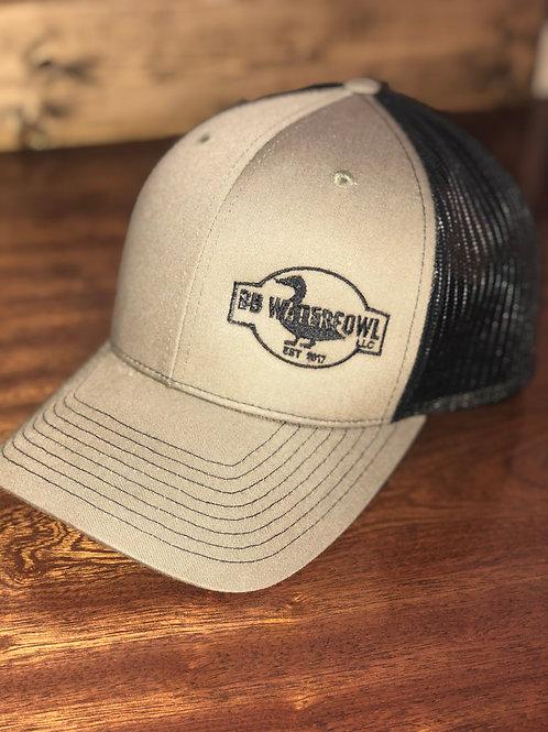 BB Waterfowl Green small logo Hat