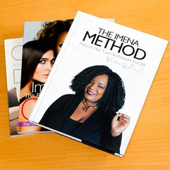 If you're looking for a great book to learn natural hair care techniques then you e found it! Pick up your copy of The IMENA METHOD_ Natural