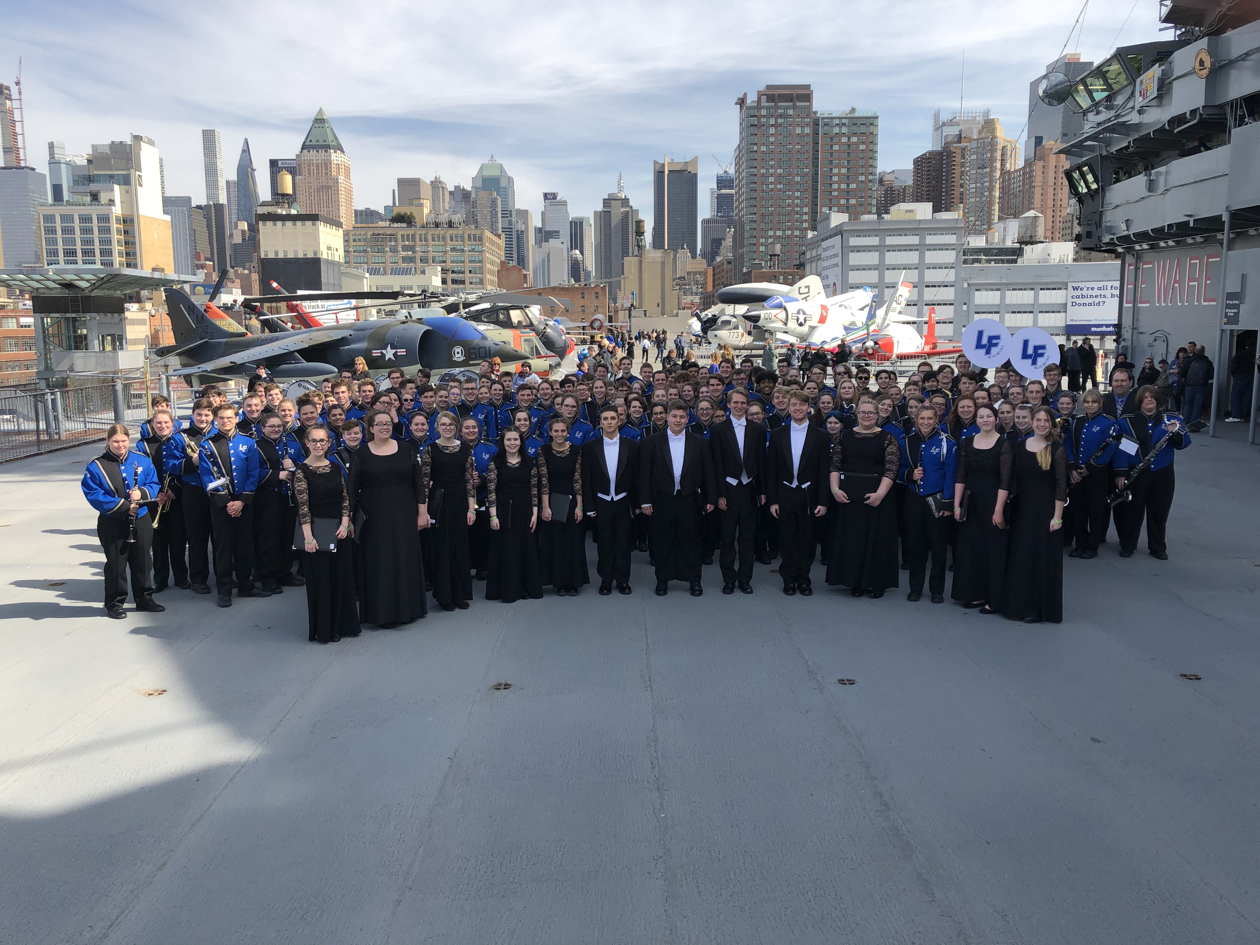 U.S.S. Intrepid Performance