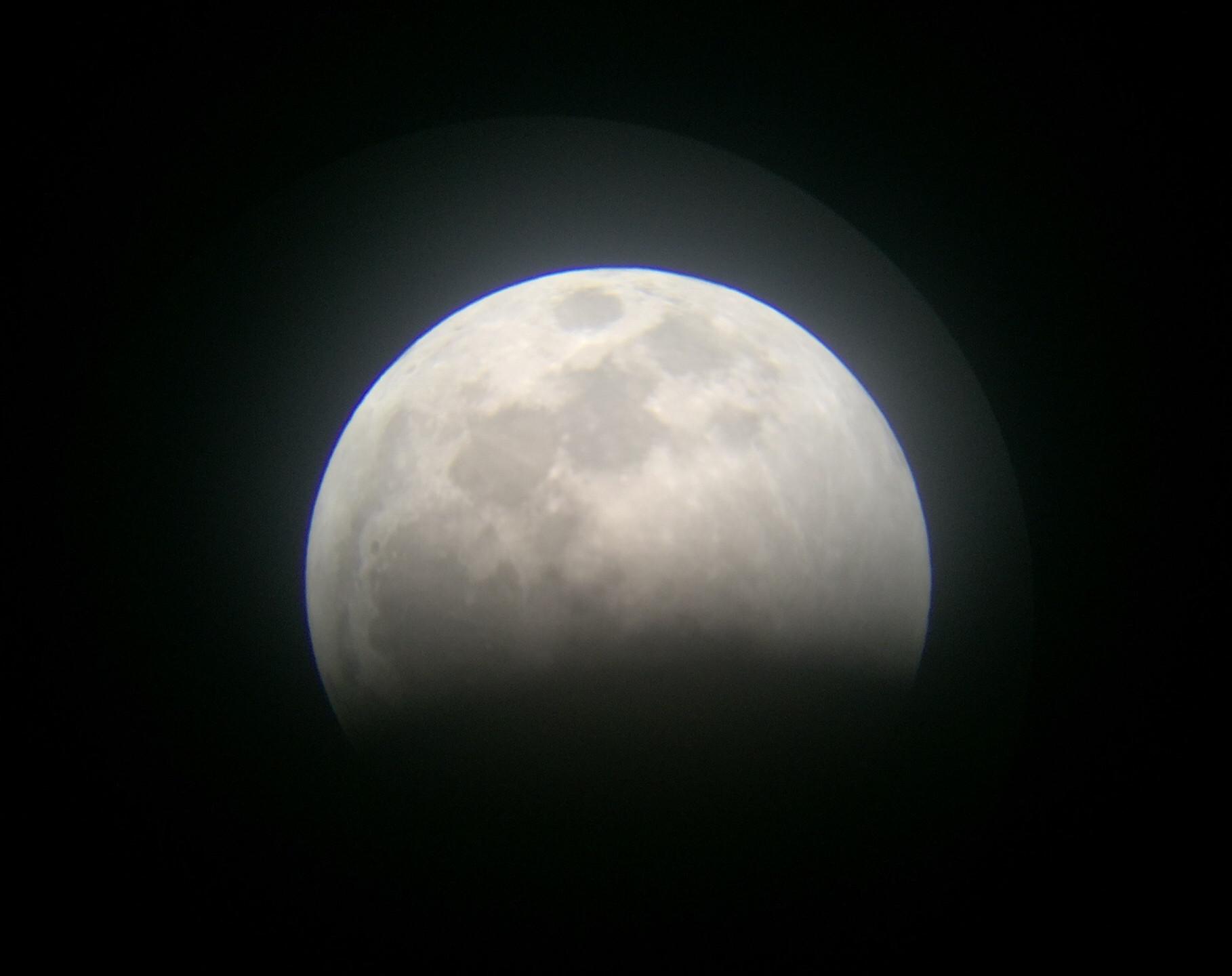 Rancho Cucamonga, CA  Total Lunar Eclipse Process 1/20/19  2 of 9