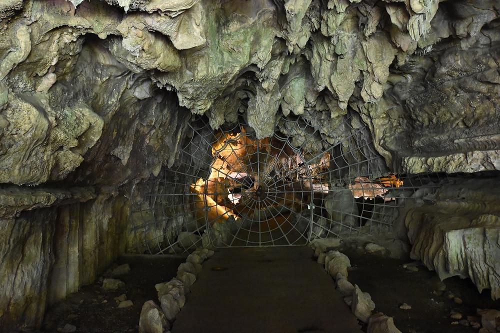 Crystal Cave Spiderweb Gate