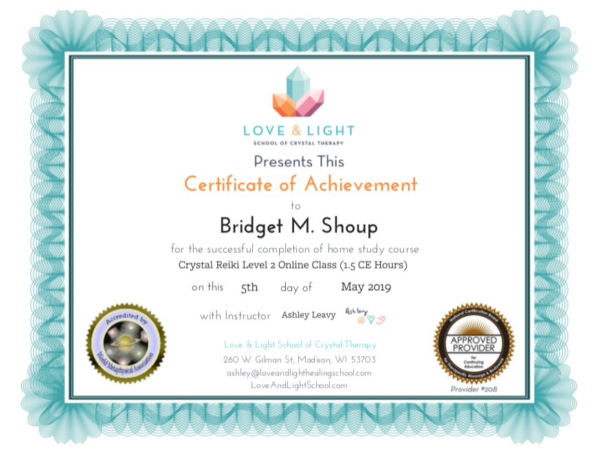 Bridget M. Shoup Crystal Reiki Lv. 2 .pn