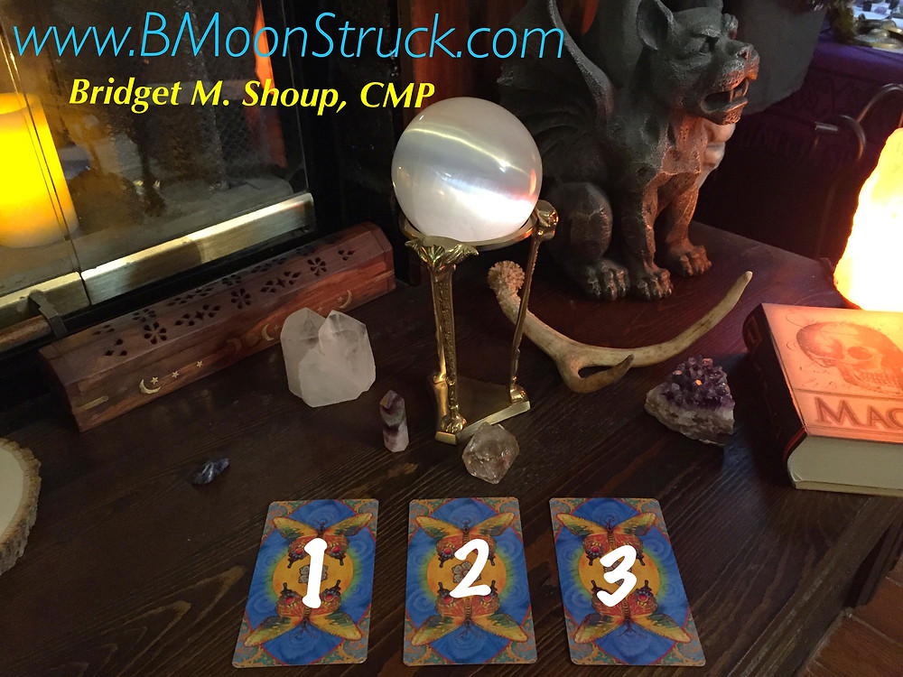 Tarot Tuesday by Bridget M. Shoup, CMP PICK YOUR CARD !!