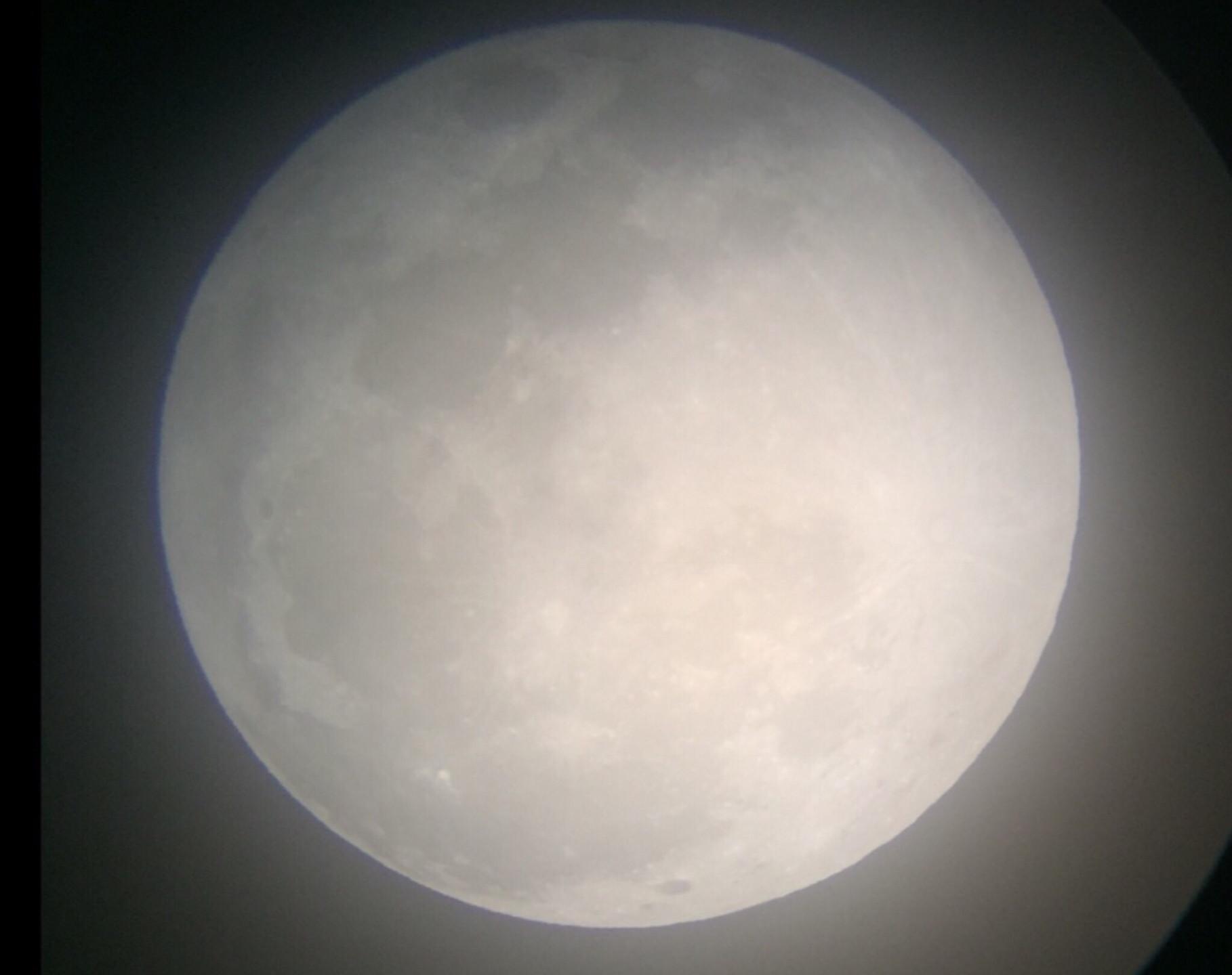 Rancho Cucamonga, CA  Total Lunar Eclipse Process 1/20/19  1 of 9