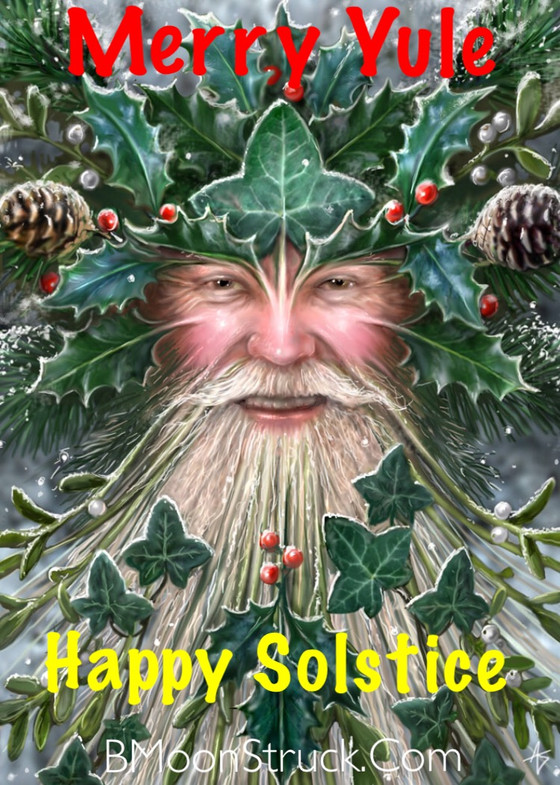Wishing you a Blessed Yule/Winter Solstice!!