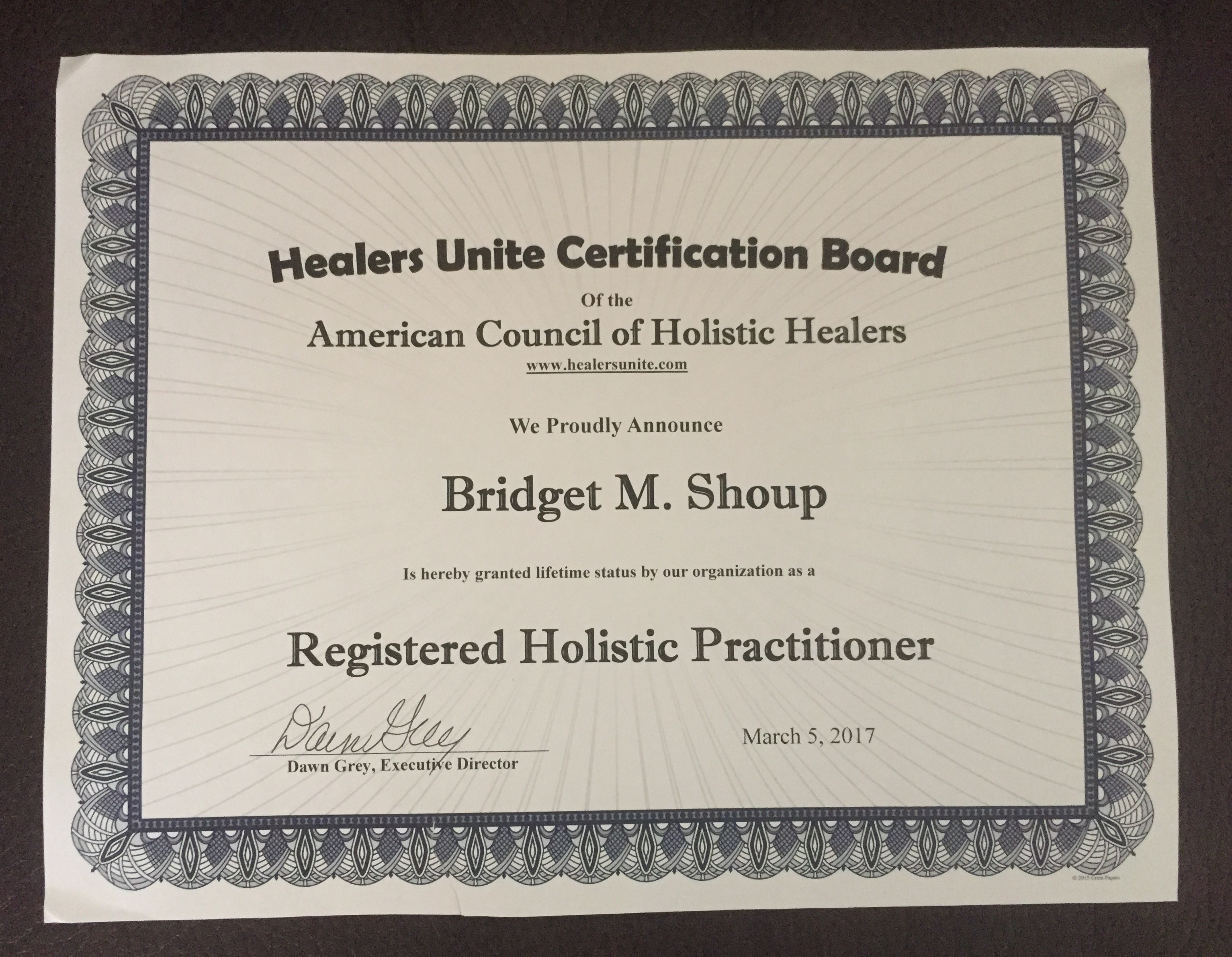 Registered Holist Practitioner Certificate .jpg