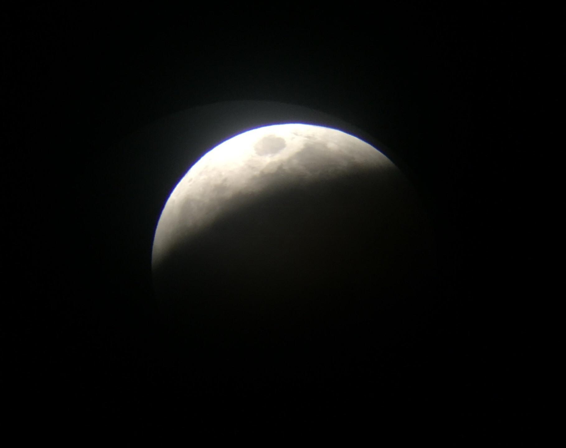 Rancho Cucamonga, CA  Total Lunar Eclipse Process 1/20/19  5 of 9