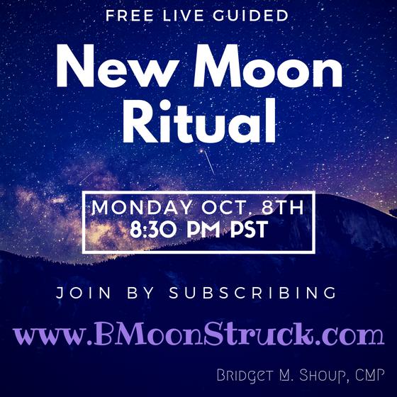 FREE Live New Moon Ritual 10/8