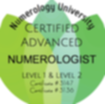 Certified Advanced Numerologist