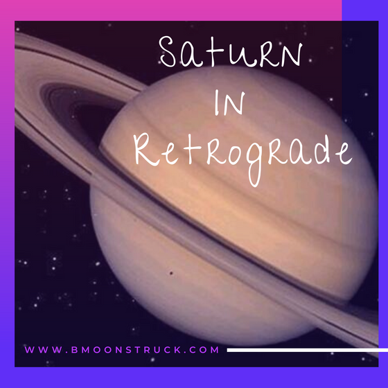 Saturn In Retrograde... What is that all about?