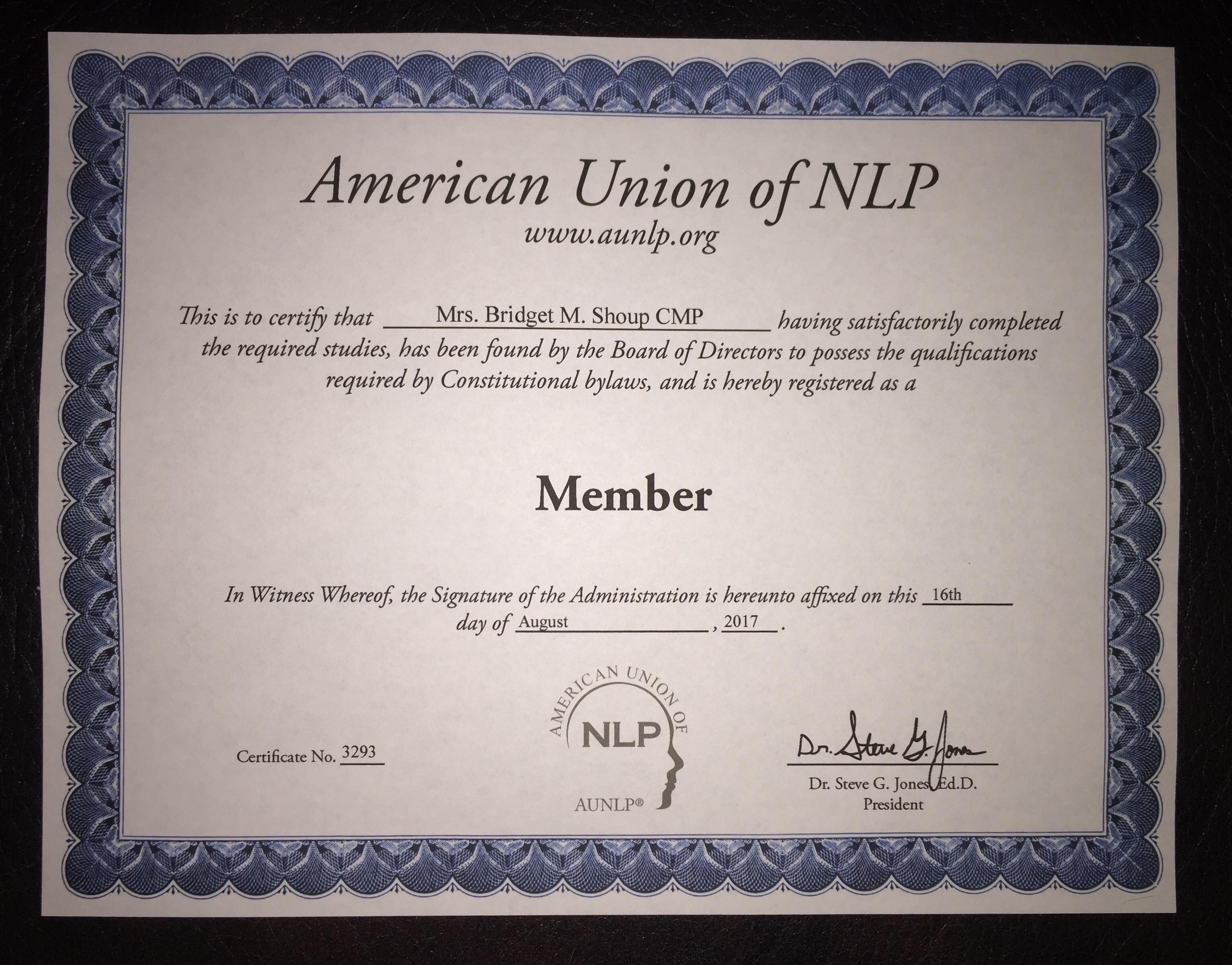 AUNLP Member Certificate .jpg