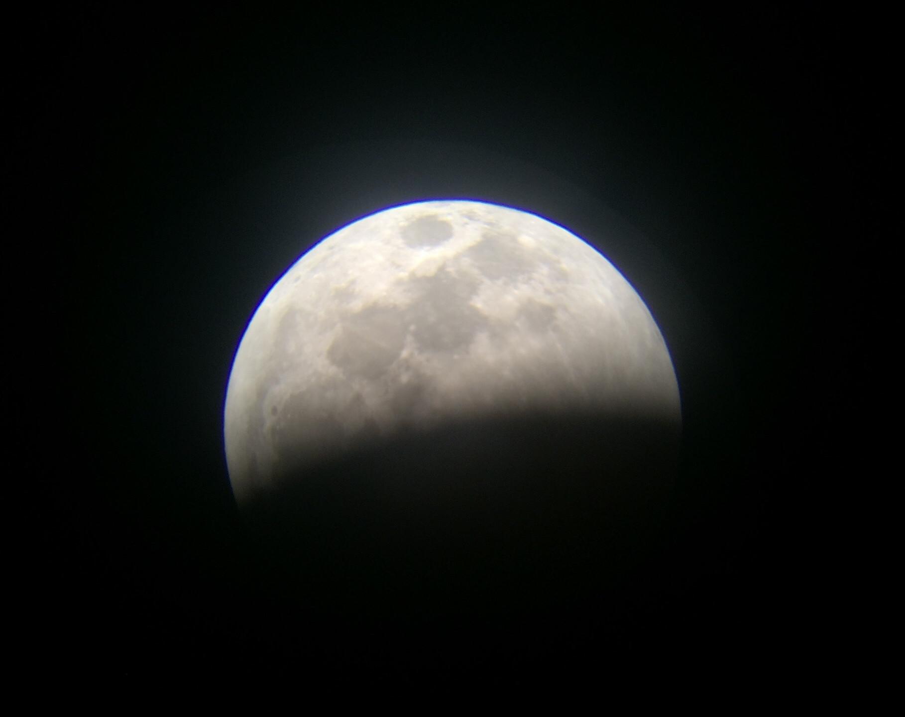 Rancho Cucamonga, CA  Total Lunar Eclipse Process 1/20/19  3 of 9