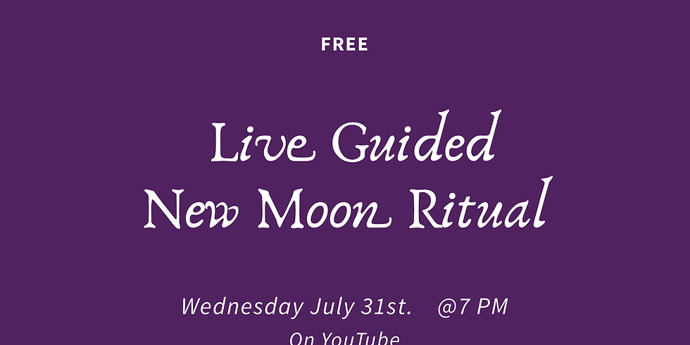 Live Guided New Moon Ritual