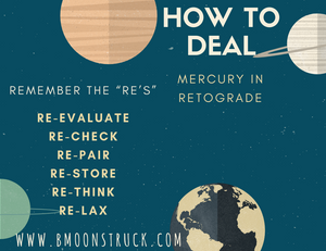 Mercury in Retrograde...The Re's