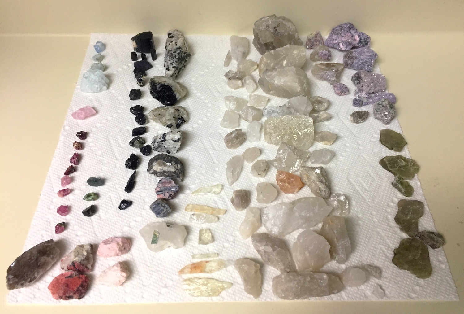 I love all the things I have found!!  I gave them a extra good washing when I got home and they are truly amazing! I feel so lucky to have had this opportunity!! Thanks Gaia for providing so many supporting Crystals in my life!