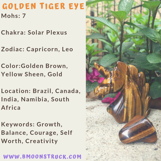 Mineral MoonDay~Golden Tiger Eye