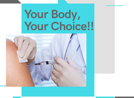 Vaccines... Your Body, YOUR Choice!