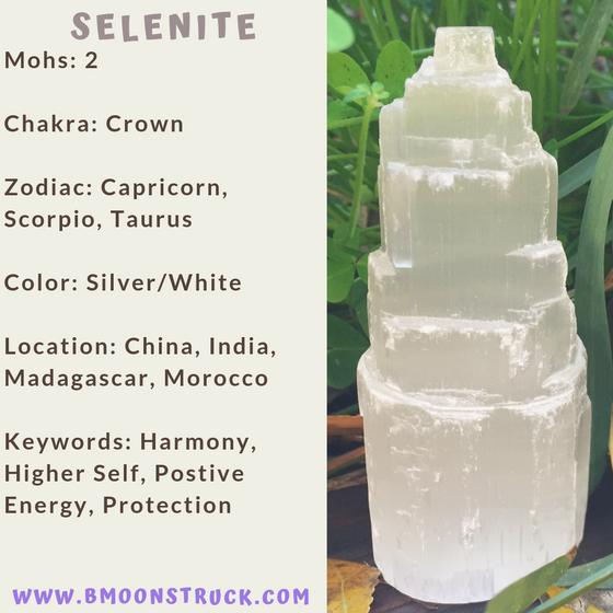 Mineral MoonDay~Selenite