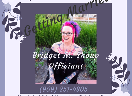 Getting Married??? I Can Help You!