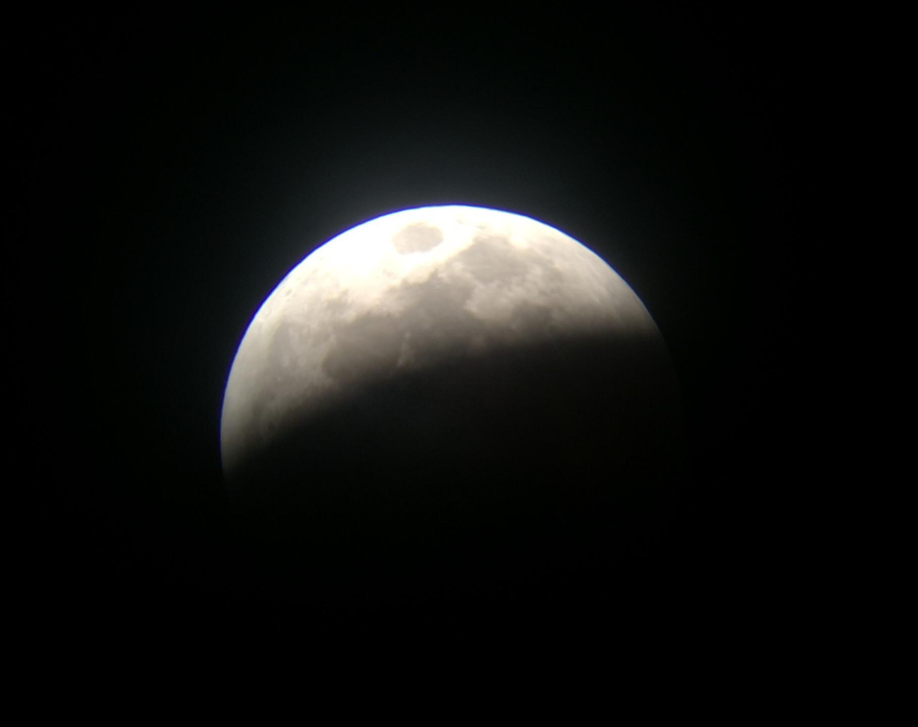 Rancho Cucamonga, CA  Total Lunar Eclipse Process 1/20/19  4 of 9