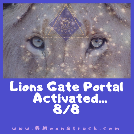 Feeling an Energetic Shifts lately?? It's Lions Gate Portal (Peaks ... 8/8)