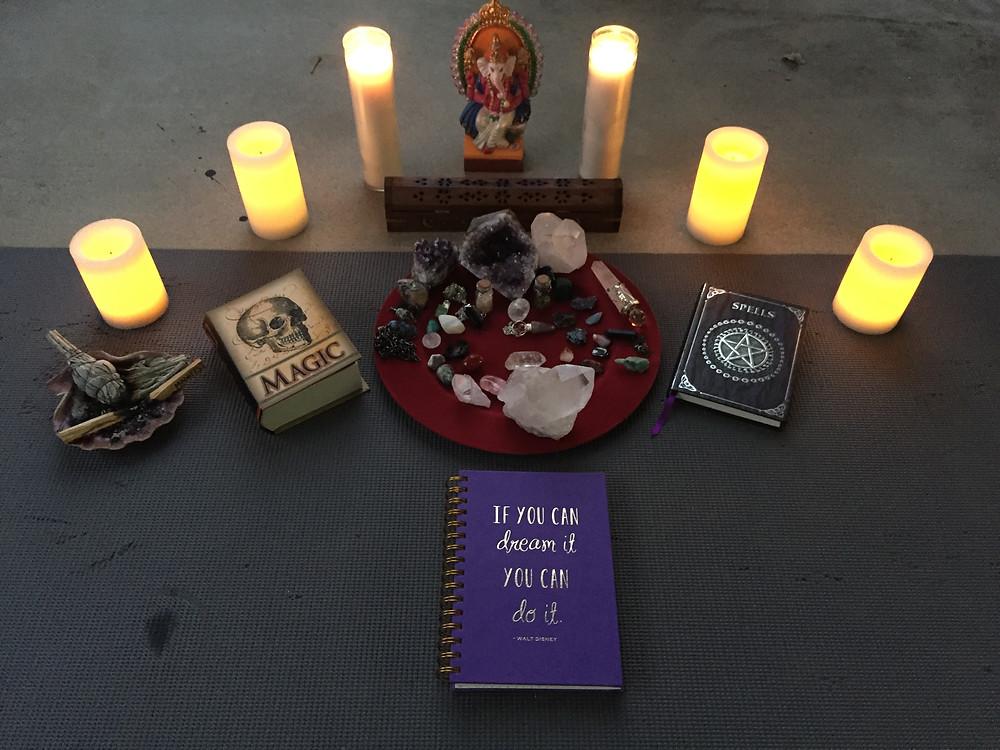 New Moon Ritual 9.30.16