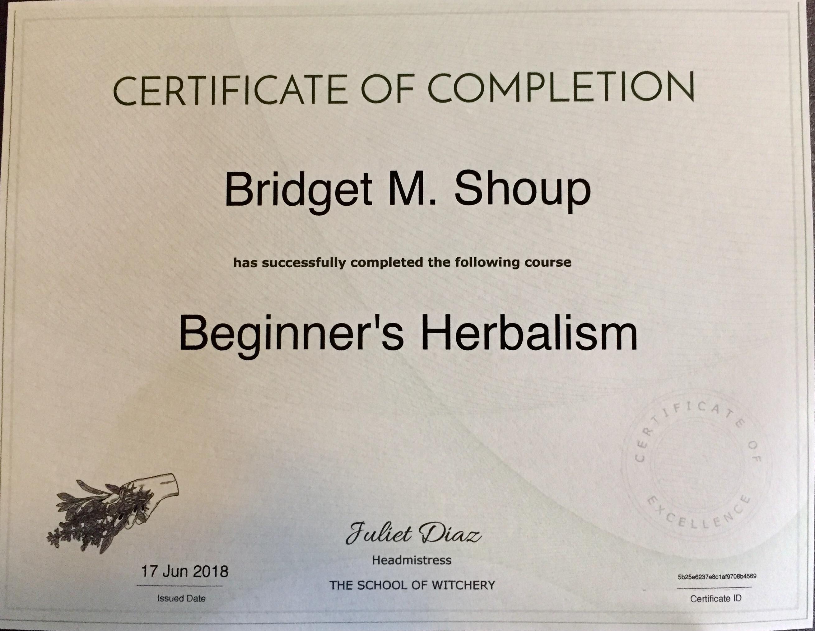 Beginners Herbalism Certificate .jpg