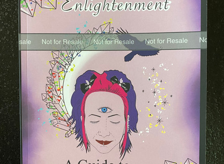 """""""Crystal Clear Enlightenment""""                             MY BOOK!!"""
