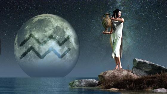 Full Moon in Aquarius August 7th, 2017