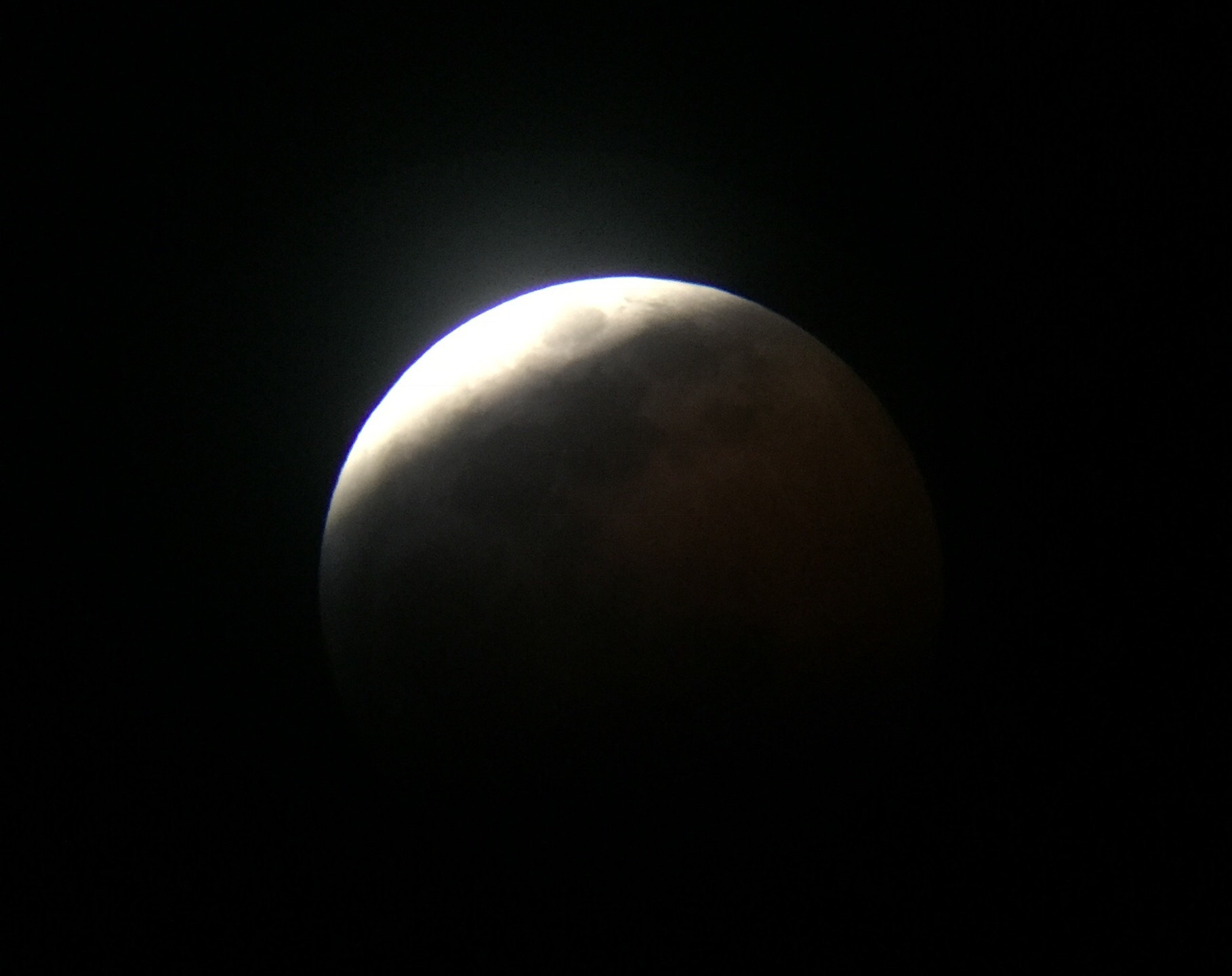 Rancho Cucamonga, CA  Total Lunar Eclipse Process 1/20/19  6 of 9