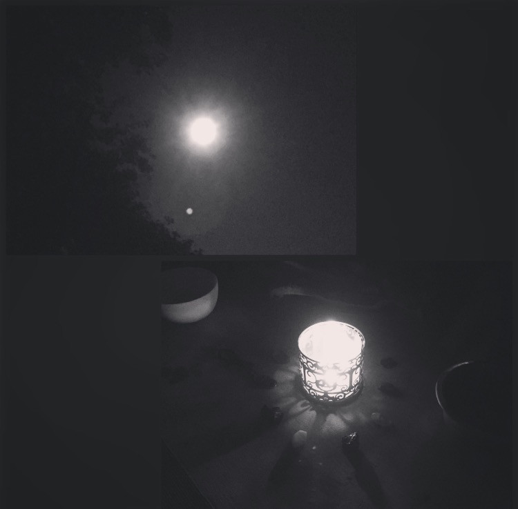 My 1st Full Moon Ritual 7.19.16