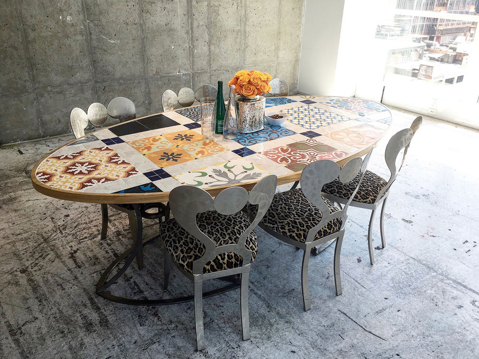 Mosaic Showroom Table