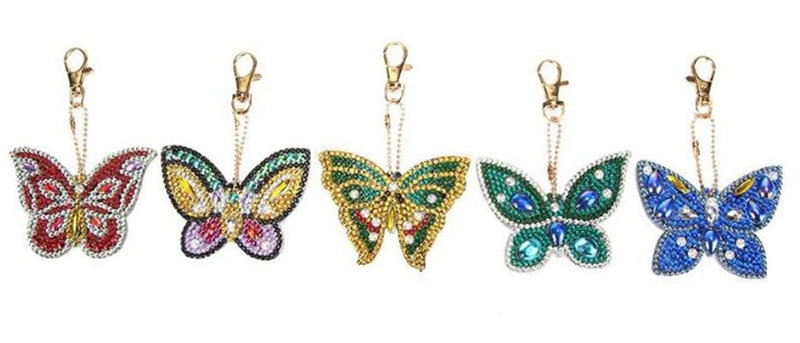 Farusha Butterfly Keychain