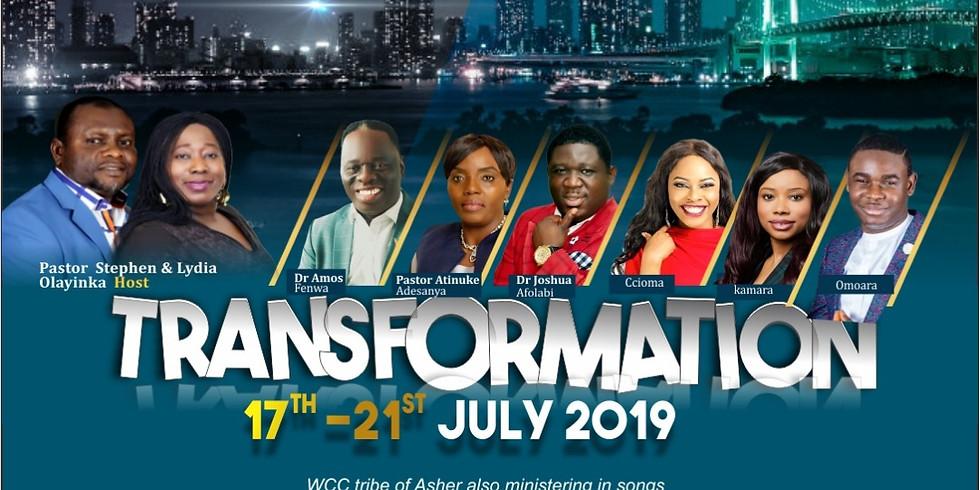 Luton Lead Conference 2019 - Transformation