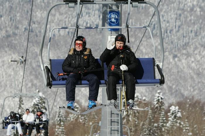DmitryMedvedev and VladimirPutin