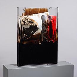 """Pietro Conti """"Faltung Bitumen Nr. 4"""""""