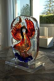 """Egidio Costantini / Marc Chagall """"Colomba Reale"""""""