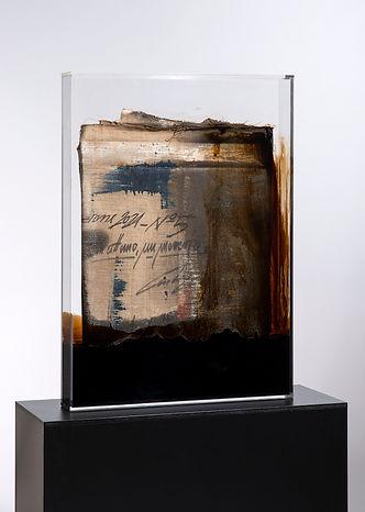 """Pietro Conti """"Faltung Bitumen Nr. 13"""""""