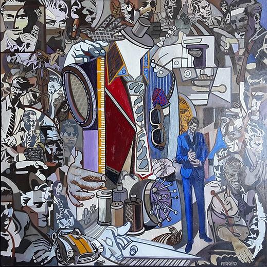 """Marc Ferrero """"Cello at his Studio"""""""