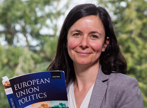 Valerie D'Erman on her interests in EU policies and trade