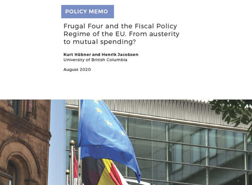 Frugal Four and the Fiscal Policy Regime of the EU. From austerity to mutual spending